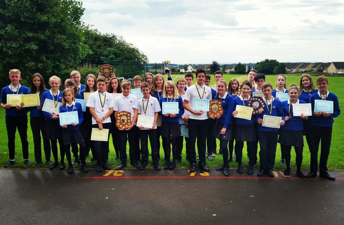 Sports Day Award Winners 2016