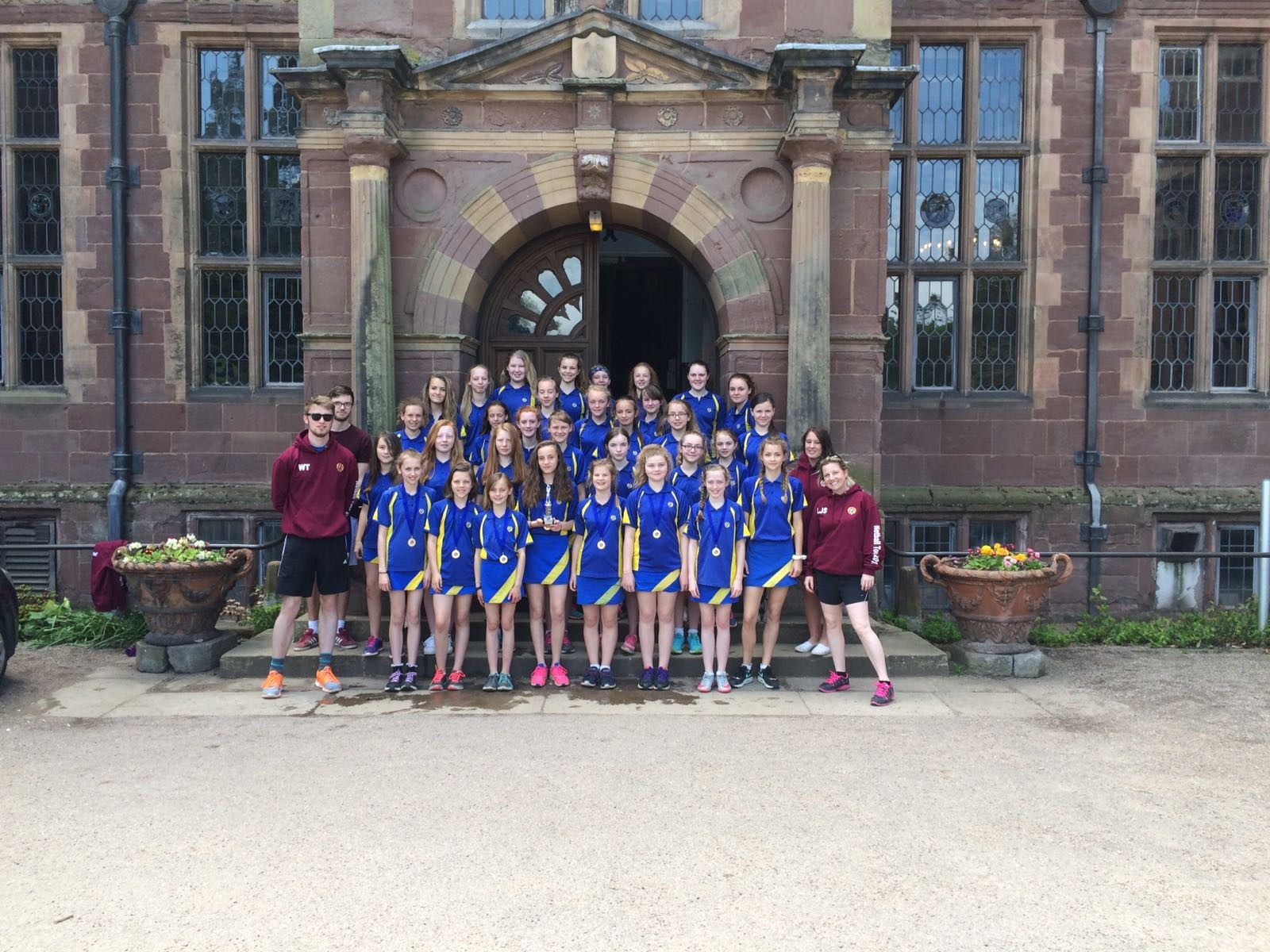Netball Tour to Condover Hall May 2016